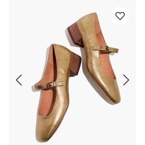 Madewell Mary Jane shoes